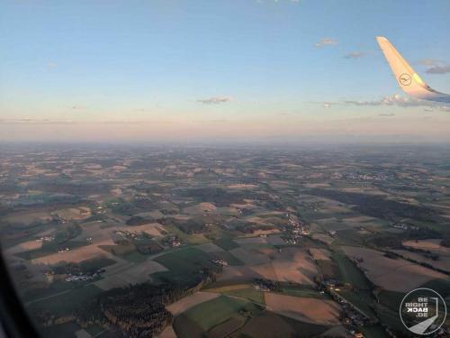 London - Rückflug