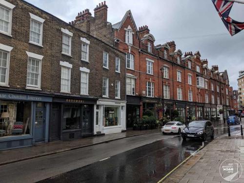 London - Typische Straße