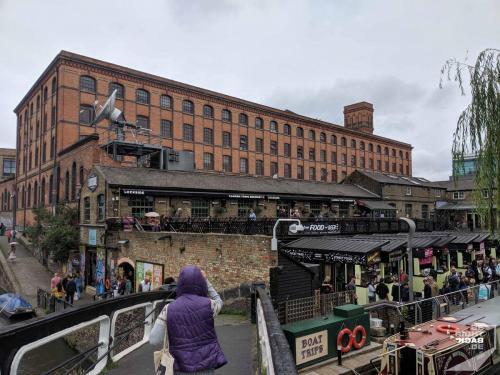 London - Camden Market Food Stalls